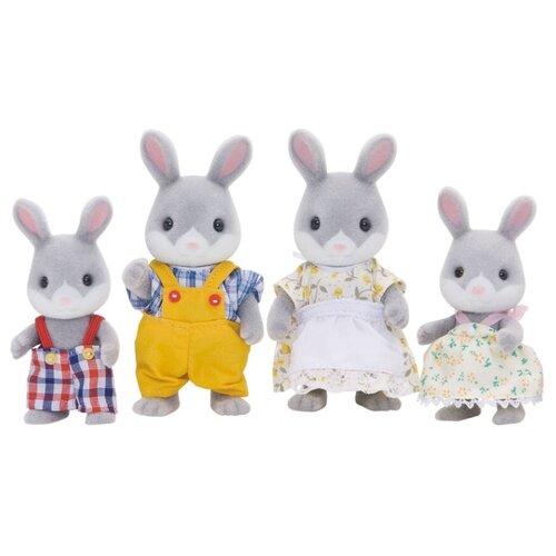 Фигурки Sylvanian Families Семья серых кроликов 3134Игровые наборы и фигурки<br>
