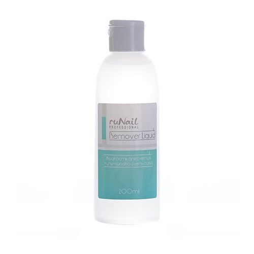 Runail Жидкость для снятия мультилака и гель-лака (2384) 200 мл