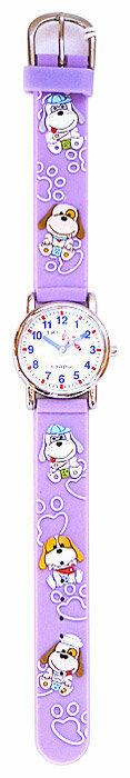 Наручные часы Тик-Так H101-2 Фиолетовые собачки