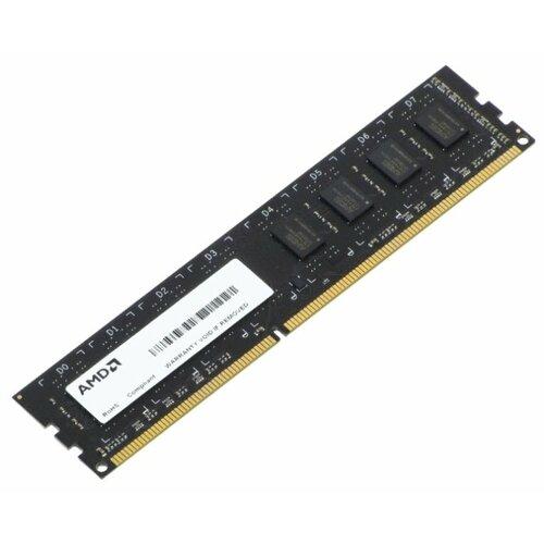 Оперативная память AMD DDR3 1600 (PC 12800) DIMM 240 pin, 2 ГБ 1 шт. 1.5 В, CL 11, R532G1601U1S-UO