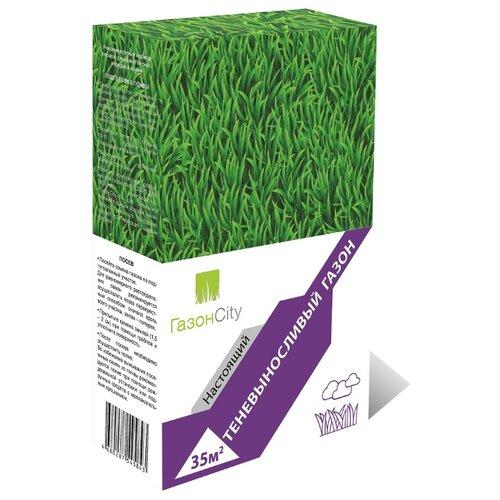 Смесь семян для газона ГазонCity Настоящий Теневыносливый газон, 1 кг