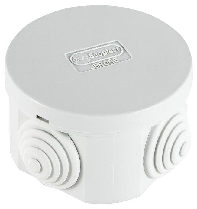 Распределительная коробка Ecoplast JBR065 наружный монтаж 65x65 мм
