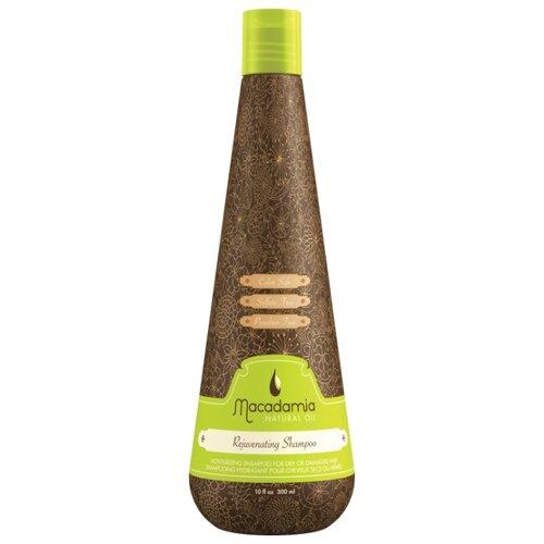 Macadamia шампунь Natural Oil Rejuvenating восстанавливающий с маслом арганы и макадамии, 300 мл  - Купить