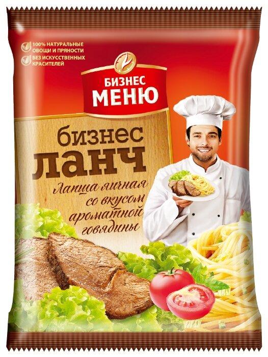 Бизнес Меню Лапша быстрого приготовления с ароматной говядиной 90 г