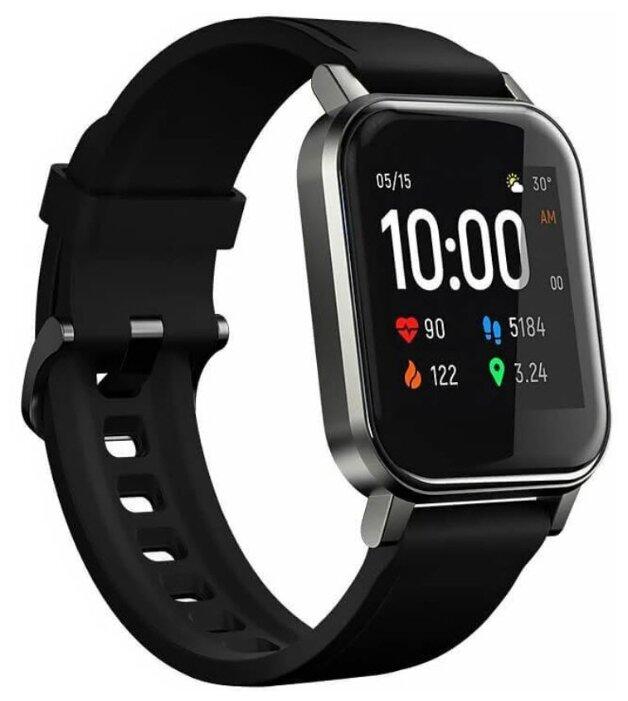 Умные часы Xiaomi Haylou LS02, черный фото 1