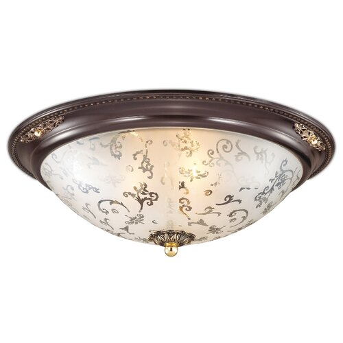 Светильник Odeon light Corbea 2671/3C, 43 х 43 см, E27 потолочный светильник odeon light pati 2205 3c