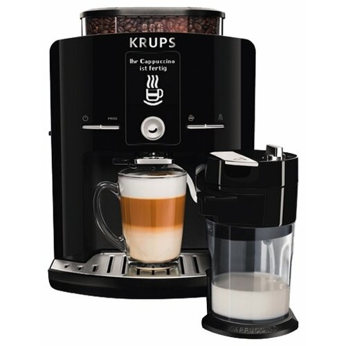 Кофемашина Krups EA8298 Latt' Express черный кофемашина krups ea894t10 серебристый