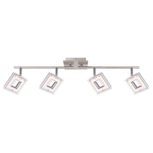 Светильник светодиодный Globo Lighting Kerstin 56138-4, LED, 16.8 Вт спот kerstin 56138 4