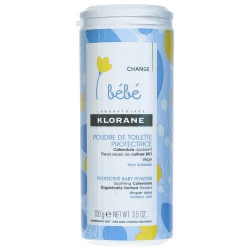 цены Klorane Присыпка защитная с экстрактом календулы 100 г