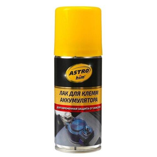Фото - Смазка ASTROhim Для клемм аккумулятора (лак) 0.14 л автомобильная смазка astrohim молибденовая 0 14 л