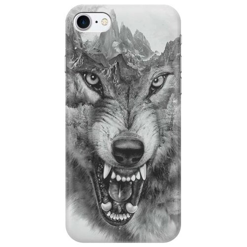 Чехол Gosso 500507 для Apple iPhone 7/iPhone 8 волк в горахЧехлы<br>