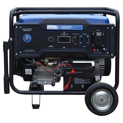 Фото - Бензиновый генератор ТСС SGG 5000EHNA (5000 Вт) бензиновый генератор тсс sgg 5000 eh 5000 вт