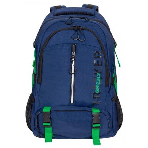 Рюкзак Grizzly RQ-905-1/2 30 (синий) grizzly rq 007 8 рюкзак 2 синий