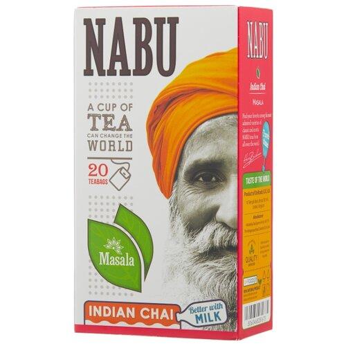 Чай черный Nabu Masala в пакетиках, 20 шт.