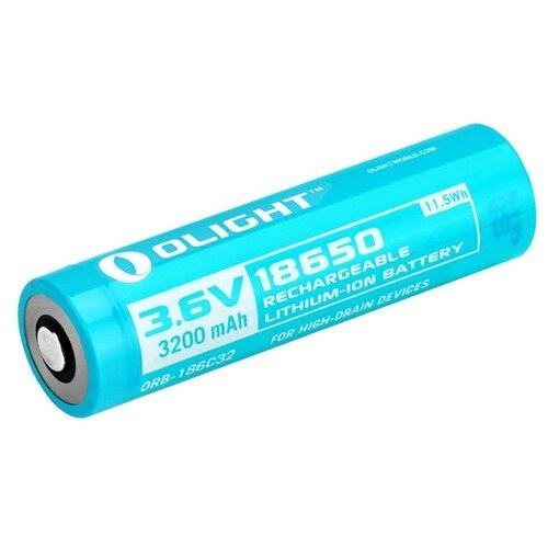 Фото - Аккумулятор Li-Ion 3200 мА·ч Olight 18650 ORB-186C32 1 шт аккумулятор
