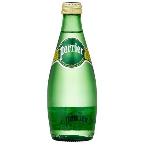 Минеральная вода Perrier газированная, стекло, 0.33 л минеральная вода от изжоги при беременности