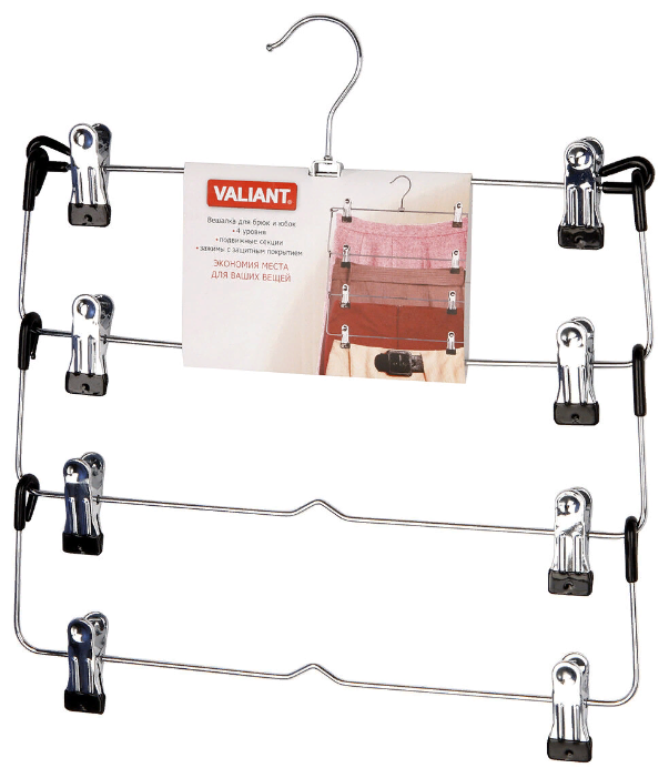 Вешалка Valiant Для брюк и юбок