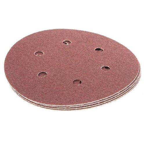 Шлифовальный круг на липучке Hammer 214-014 150 мм 5 шт шлифовальный круг на липучке hammer 214 011 125 мм 5 шт