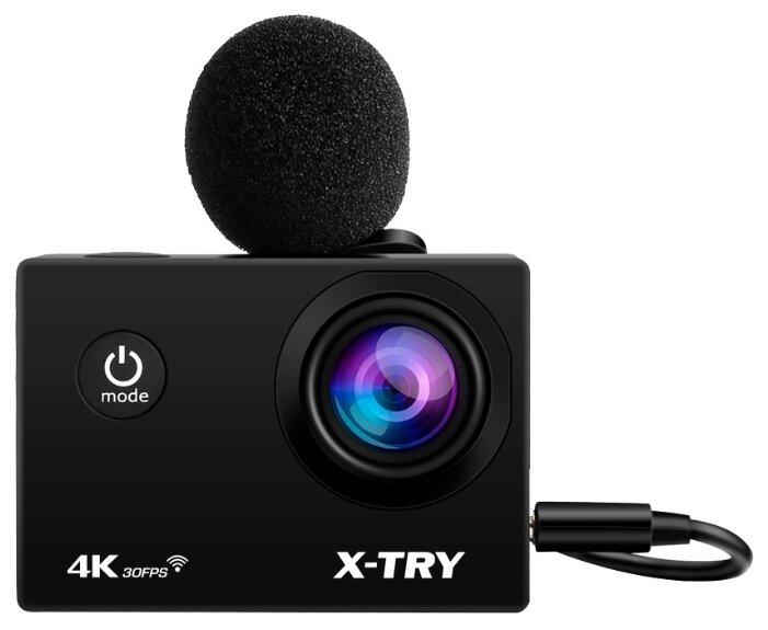 Сравнение с Экшн-камера X-TRY XTC198 EMR UltraHD