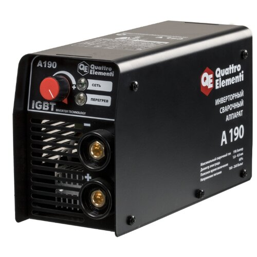 Сварочный аппарат Quattro Elementi A 190 (MMA) сварочный инвертор quattro elementi b 205