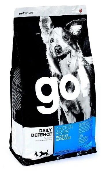 Корм для собак GO! Daily Defence курица 5.45 кг