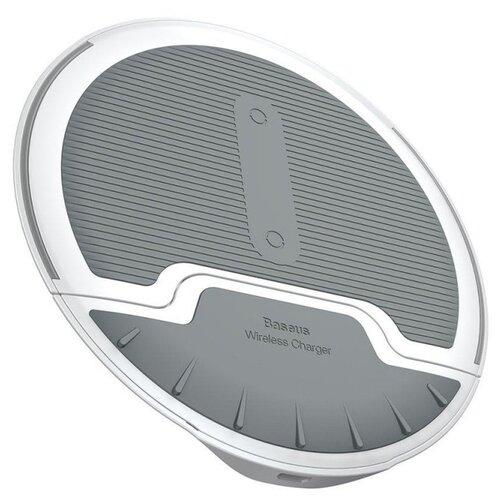Беспроводная сетевая зарядка Baseus Foldable Multifunction Wireless Charger белый/серый