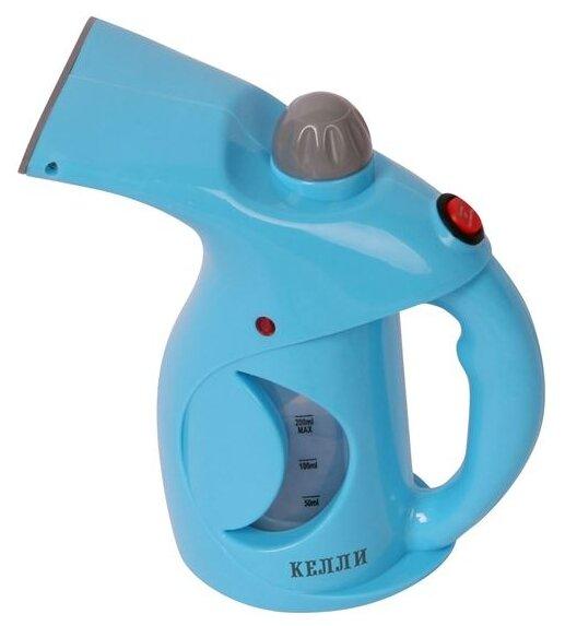 Купить Отпариватель Kelli KL-316, голубой/серый по низкой цене с доставкой из Яндекс.Маркета (бывший Беру)