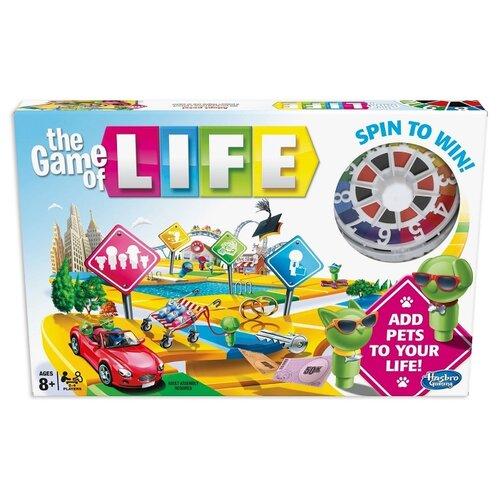 Купить Настольная игра Hasbro Игры Игра в жизнь E4304121, Настольные игры