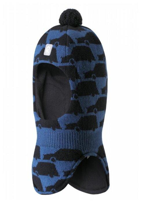 Шапка-шлем Reima размер 46, серый