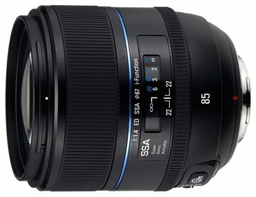 Объектив Samsung 85mm f/1.4 ED SSA (T85NB)