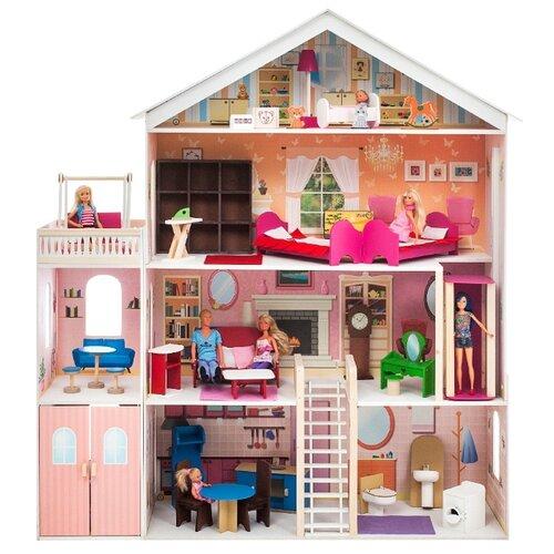 Купить PAREMO кукольный домик Мечта PD316-02, розовый, Кукольные домики