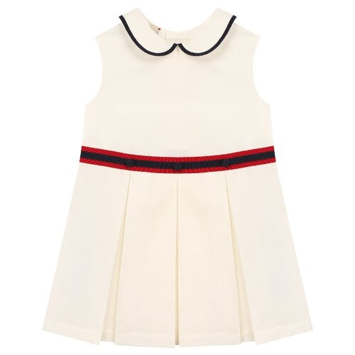 Платье GUCCI размер 86-92, кремовый