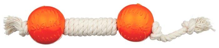 Гантель для собак Doglike Dental Knot канатная средняя (D-2369)