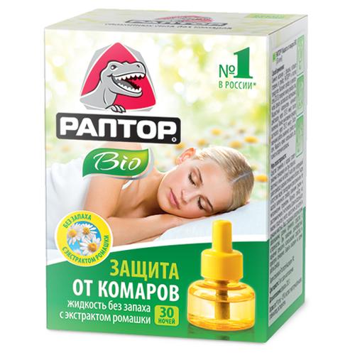 Жидкость для фумигатора Раптор от комаров Bio 20 мл 30 ночейСредства против насекомых<br>