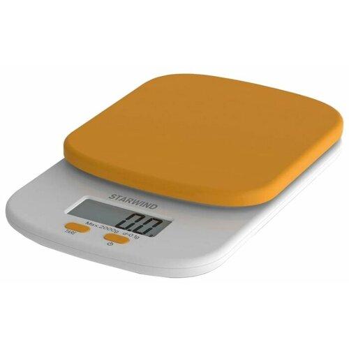 Кухонные весы STARWIND SSK2155/2156/2157/2158 оранжевый весы кухонные starwind ssk2259 желтый