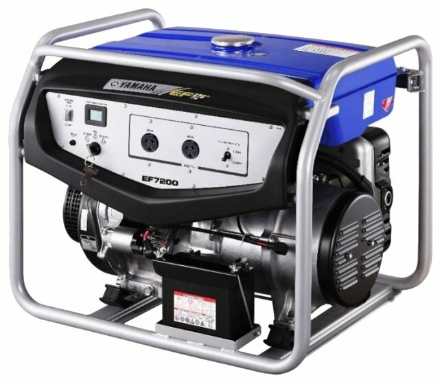 Бензиновый генератор Yamaha EF7200E (5500 Вт)