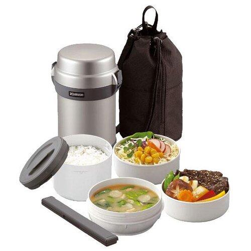 Термос для еды Zojirushi SL-JAF14, 1.23 л silver