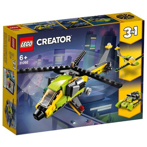 Конструктор LEGO Creator 31092 Приключения на вертолете конструктор creator lego lego mp002xb00cac