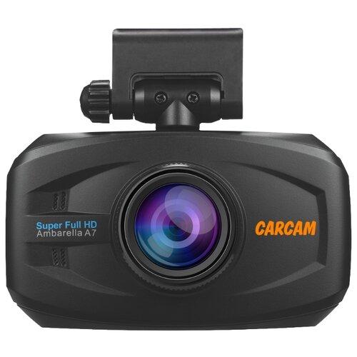 Видеорегистратор CARCAM Q7, GPS, ГЛОНАСС черный