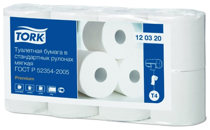 Туалетная бумага TORK Premium 120320