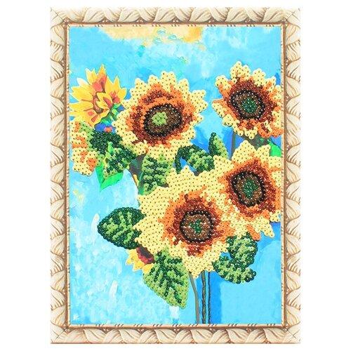 Купить Color Kit Картина из пайеток Подсолнухи (CME013), Картины из пайеток