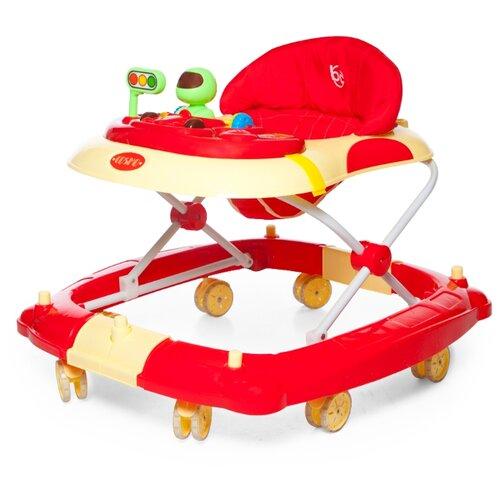 Ходунки Baby Care Cosmo красный baby care baby care ходунки walker розовые