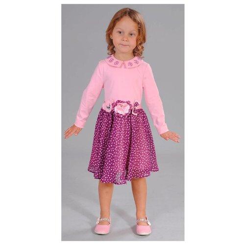 Платье Fleur de Vie размер 92, розовый
