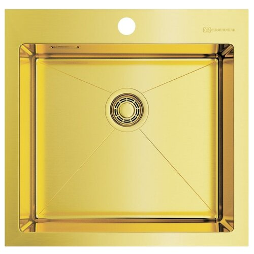Врезная кухонная мойка 51 см OMOIKIRI Akisame 51-LG светлое золото врезная кухонная мойка 65 см omoikiri akisame 65 lg r светлое золото