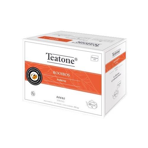 Чайный напиток травяной Teatone Rooibos в пакетиках для чайника, 20 шт.