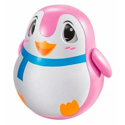 Купить Неваляшка Zhorya Пингвин (ZYB-B2473) розовый, Неваляшки