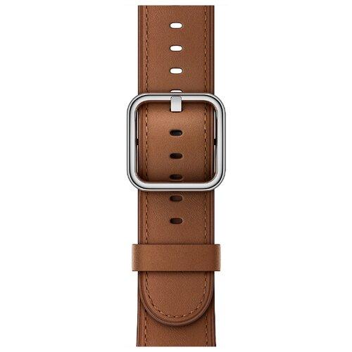 Apple Классический кожаный ремешок (для корпуса 38 мм) коричневый