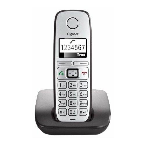 Радиотелефон Gigaset E310 серый/серебристый радиотелефон