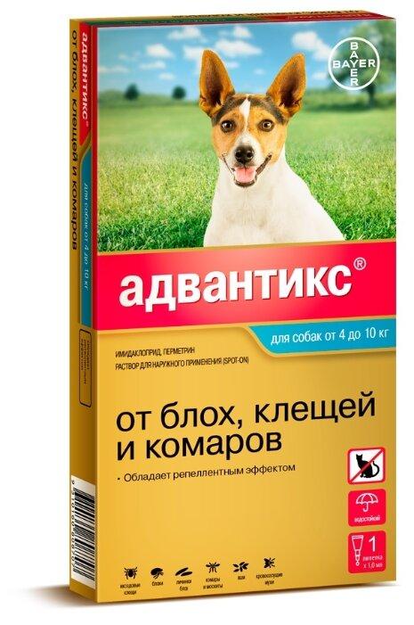 Адвантикс (Bayer) капли от блох и клещей