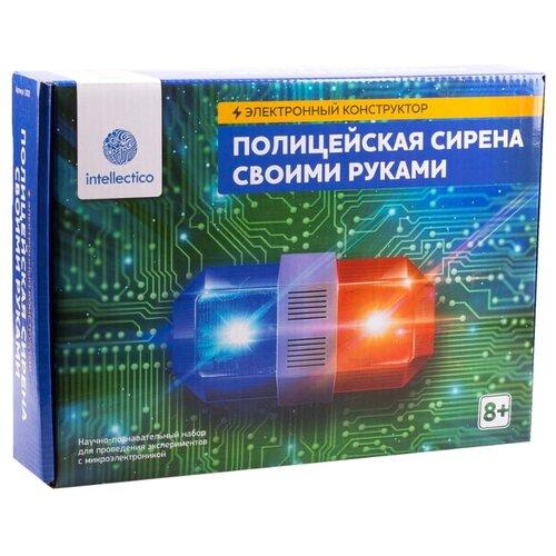 Купить Набор Intellectico Электронный конструктор. Полицейская сирена своими руками (1002), Наборы для исследований